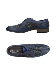 Ebarrito Lace Up Shoes Dark Blue