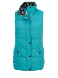 Dash Peached Gilet Teal Purple