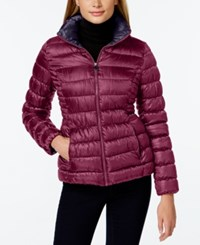 Inc International Concepts Packable Puffer Coat Only At Macy's Peony Marine