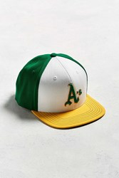 American Needle Big Show Oakland Athletics Baseball Hat Green Multi
