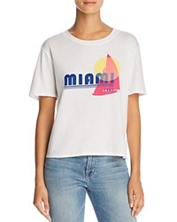 Michelle By Comune Miami Graphic Tee 100 Exclusive White