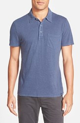 Ag Jeans Men's Ag 'Cliff' Short Sleeve Hemp Polo Pale Crystal