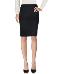 Bouchra Jarrar Knee Length Skirts Black