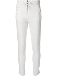 Transit Straight Leg Trousers White