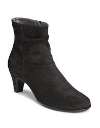 Aerosoles Red Light Slouchy Ankle Boots Black