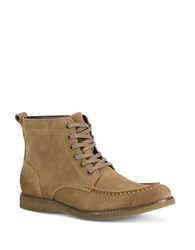 Marc New York Borden Suede Ankle Boots Beige