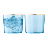 Lsa International Sorbet Tumbler Set Of 2 Spearmint