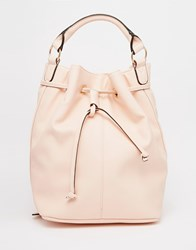 Asos Duffle Backpack Pink
