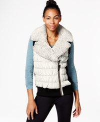 Calvin Klein Performance Sherpa Vest Cloud