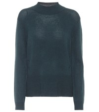 81 Hours Hila Wool And Cashmere Sweater Blue