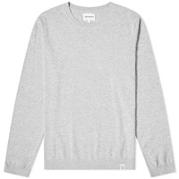Norse Projects Sigfred Dry Cotton Crew Knit Grey