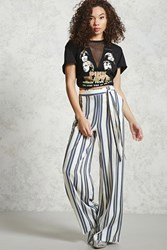 Forever 21 Contemporary Striped Palazzo Pants
