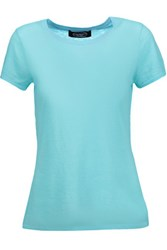 Magaschoni Cashmere T Shirt Turquoise