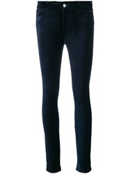 Paige Hoxton Cropped Trousers Cotton Spandex Elastane Rayon
