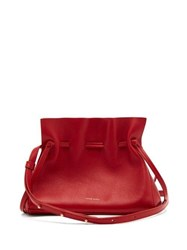 Mansur Gavriel Mini Protea Leather Cross Body Bag Red Multi
