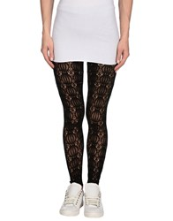 Red Valentino Redvalentino Trousers Leggings Women Black