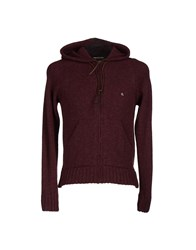 Cycle Knitwear Cardigans Men Deep Purple