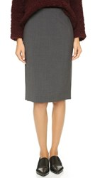 Theory Edition Pencil Skirt Charcoal