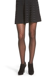 Wolford 'Daria' Polka Dot Tights Black Black