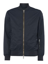 Label Lab Men's Wilton Bomber Jacket Navy