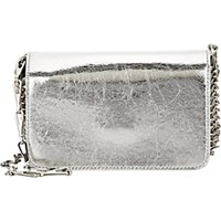 Paco Rabanne Women's 14 01 Chain Mail Mini Crossbody Silver