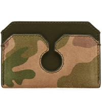 Buscemi Front Pocket Card Holder Green