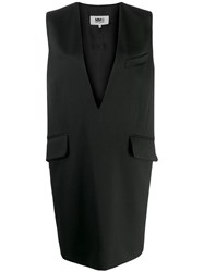 Maison Martin Margiela Mm6 Shift Dress Black