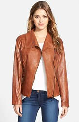 Women's Bernardo Leather Moto Jacket