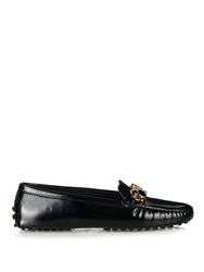 Tod's Gommino Art Deco Leather Loafers