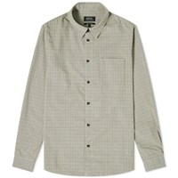 A.P.C. Vico Check Shirt Green