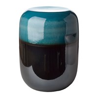 Pols Potten Ceramic Pill Stool Blue Bronze Gradient