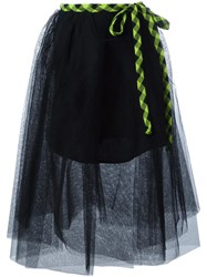 Marc Jacobs Full Tulle Skirt Black