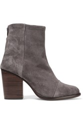 Rag And Bone Ashby Suede Ankle Boots Gray