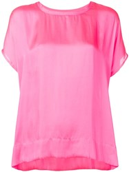 Essentiel Antwerp Relaxed Fit T Shirt Pink