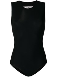 Maison Martin Margiela Sleeveless Bodysuit Black