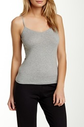 Joe's Jeans Lace Trim Cami Gray