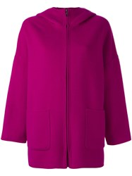 P.A.R.O.S.H. 'Lovery' Coat Pink Purple