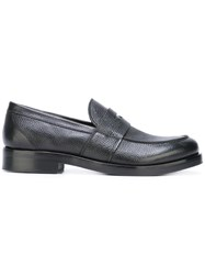 Henderson Baracco Classic Penny Loafers Black