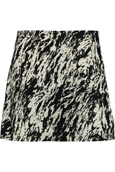 Rag And Bone Montrose Jacquard Mini Skirt White