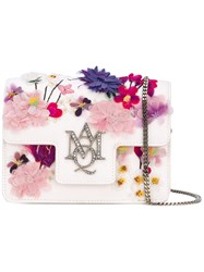 Alexander Mcqueen Mini Insignia Satchel Women Leather Other Fibres One Size White