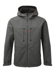 Tog 24 Men's Radiation Mens Tcz Shell Hooded Jacket Grey Marl