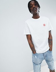 Element X Keith Haring T Shirt With Back Print In White