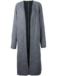 Haider Ackermann Relaxed Fit Coat Grey