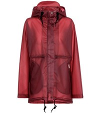 Hunter Original Vinyl Raincoat Red