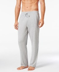 Michael Kors Men's Luxury Comfort Knit Pants Grey Heather