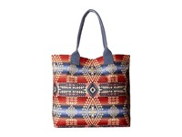 Pendleton Canopy Canvas Tote Canyonlands Tote Handbags Red