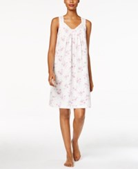 Charter Club Lace Trimmed Printed Nightgown Only At Macy's Bouquet Dot