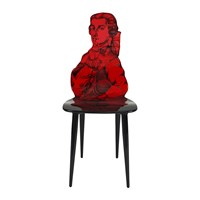 Fornasetti Don Giovanni Chair Red