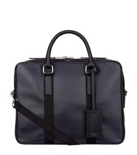 Sandro Small Contrast Detail Briefcase Blue