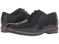 Bostonian Melshire Wing Black Leather Men's Lace Up Wing Tip Shoes